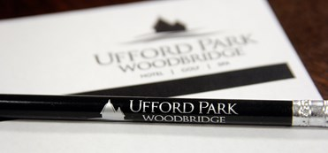 Ufford Park pencil and stationary
