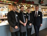 Four of the The Park Bar and Restaurant Team