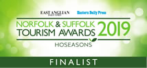 Norfolk and Suffolk Tourism Awards - Finalist 2019